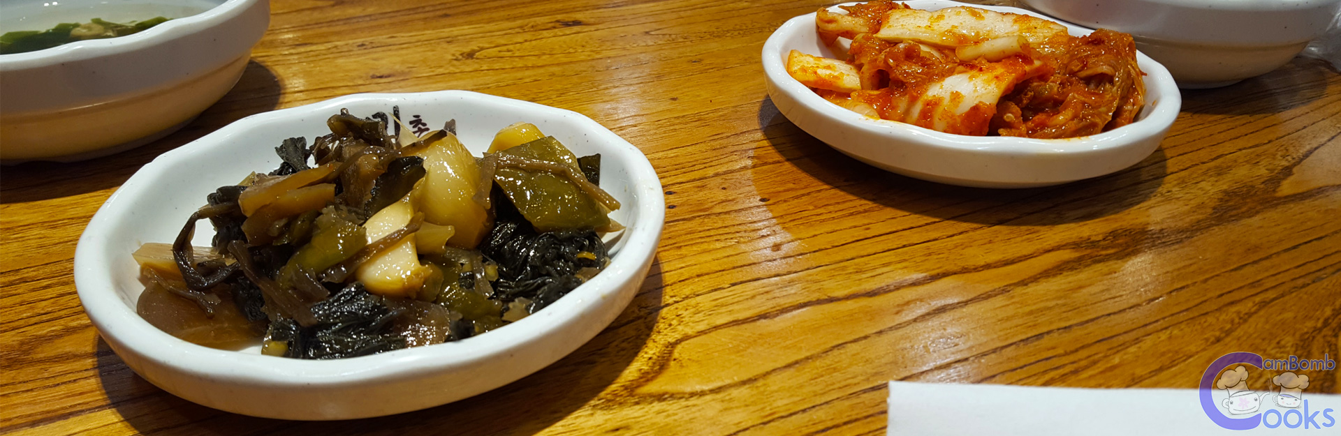 Pickled Garlic and Kimchi