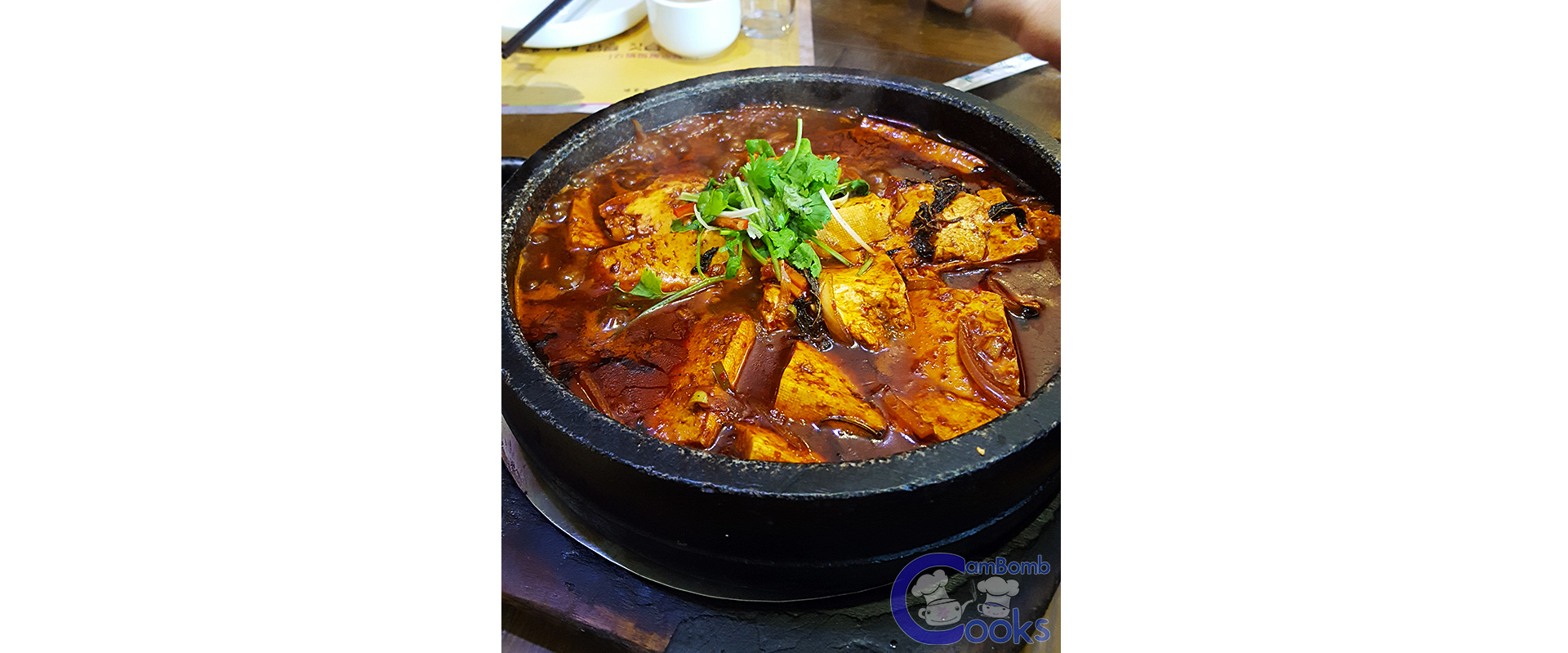 CamBomb Food Review - Spicy Korean Tofu Soup